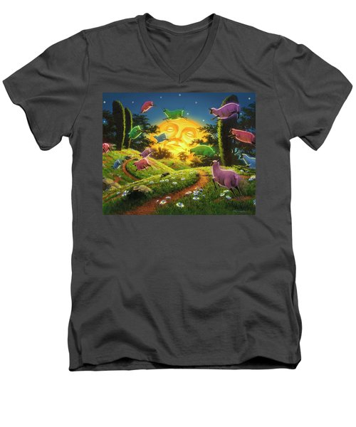Dreamland IIi Men's V-Neck T-Shirt