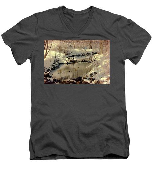 Dreams Come To Light Men's V-Neck T-Shirt