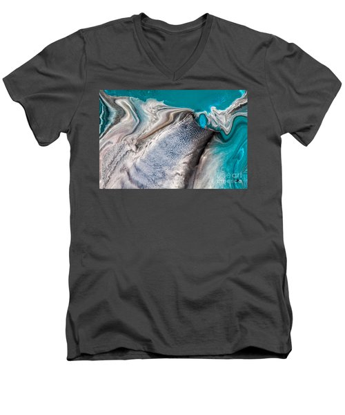 Dreams Like Ocean Men's V-Neck T-Shirt