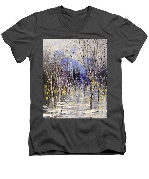 Dreamt Of Driving Men's V-Neck T-Shirt by Tatiana Iliina