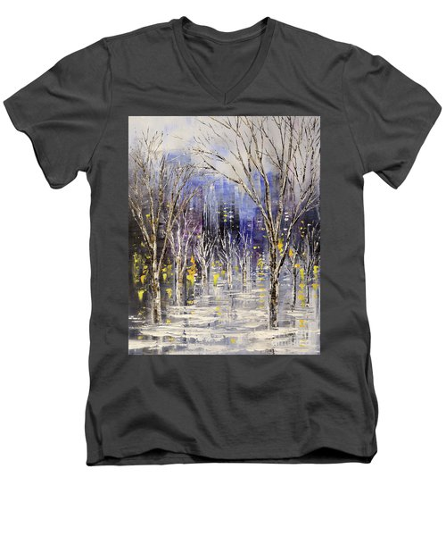 Dreamt Of Driving Men's V-Neck T-Shirt
