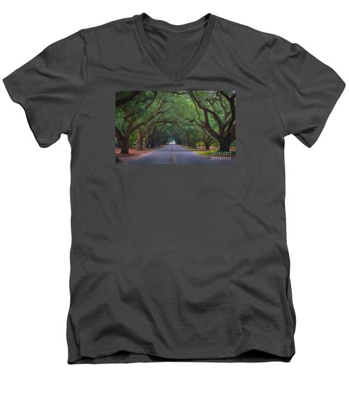 Dreamy Boundry Men's V-Neck T-Shirt