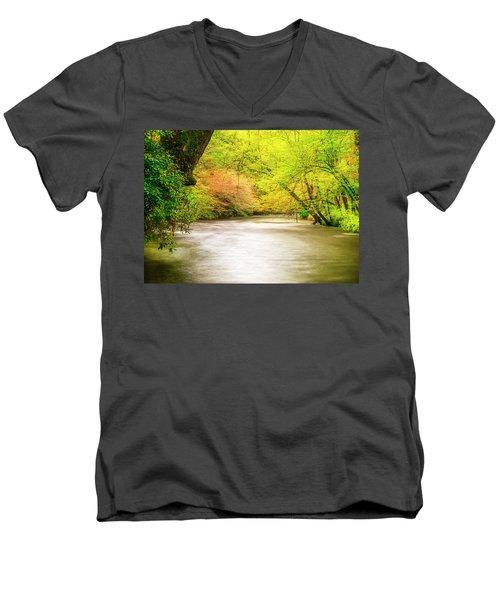 Dreamy Days Men's V-Neck T-Shirt