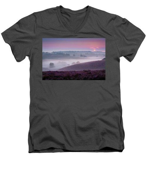 Dreamy Morning Men's V-Neck T-Shirt