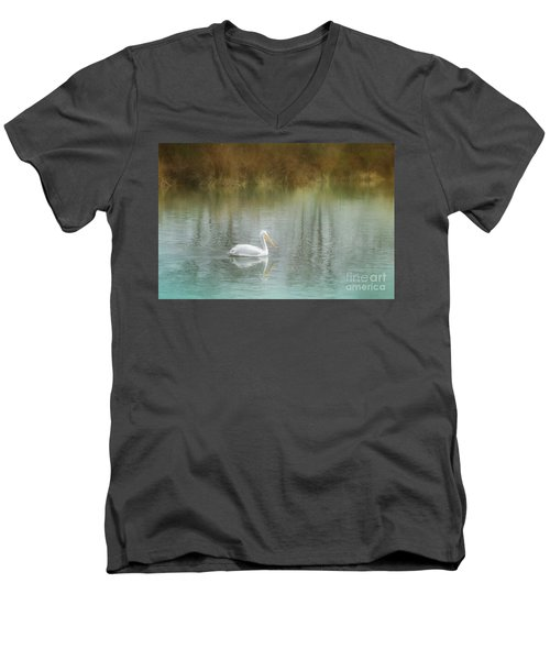 Dreamy Solitude Men's V-Neck T-Shirt