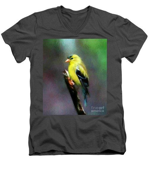 Dressed To Kill Men's V-Neck T-Shirt