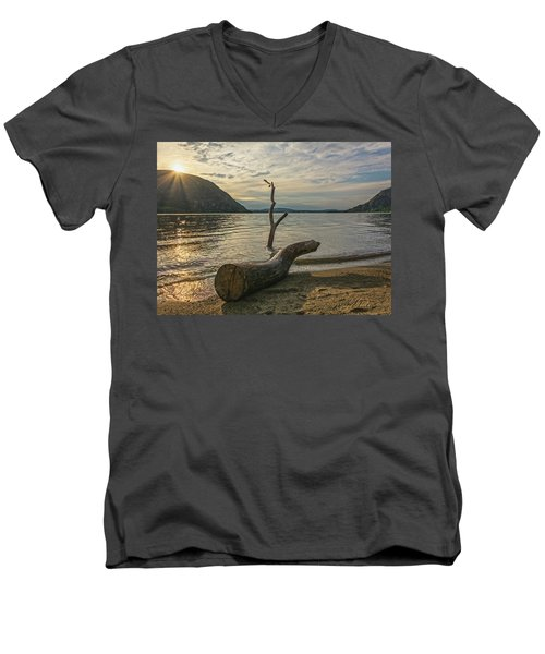 Driftwood Directional Men's V-Neck T-Shirt
