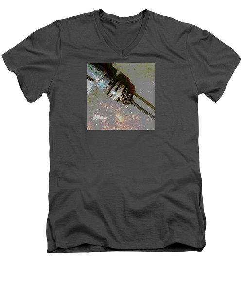 Drill Men's V-Neck T-Shirt by Tetyana Kokhanets