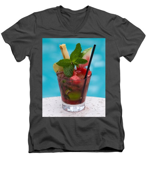Drink 27 Men's V-Neck T-Shirt