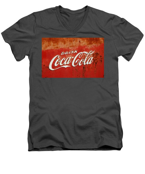Drink Coca Cola  Men's V-Neck T-Shirt