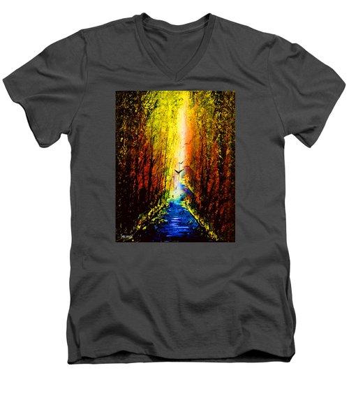 Dripx 74 Men's V-Neck T-Shirt