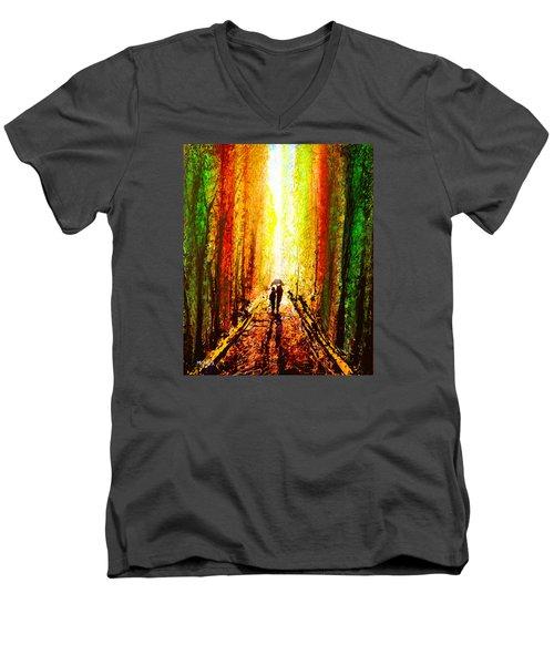 Drip X 73 Men's V-Neck T-Shirt