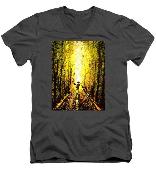 Dripx 71 Men's V-Neck T-Shirt