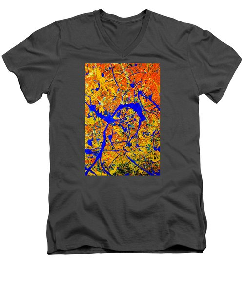 Dripx 90 Men's V-Neck T-Shirt