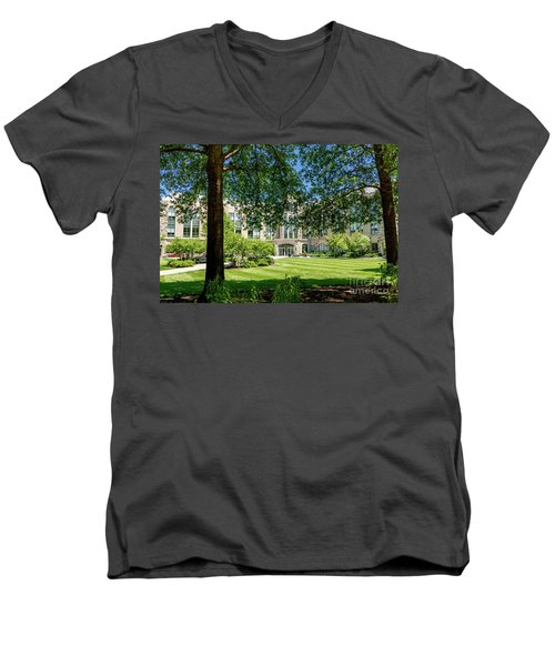 Driscoll Hall Men's V-Neck T-Shirt