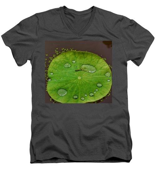 Droplets I Men's V-Neck T-Shirt