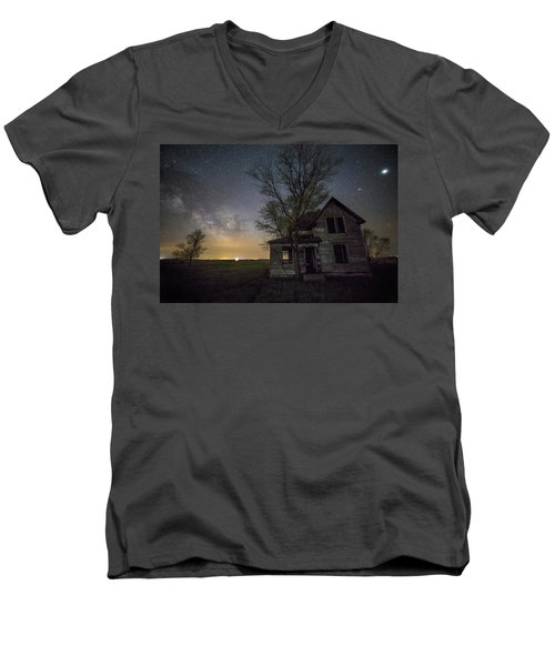 Drops Of Jupiter  Men's V-Neck T-Shirt by Aaron J Groen