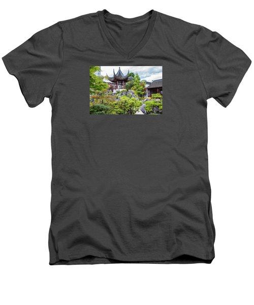 Dr. Sun Yat Sen Classical Chinese Garden, Vancouver Men's V-Neck T-Shirt