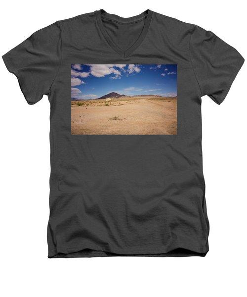 Dry And Oily Men's V-Neck T-Shirt