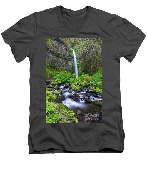Dry Creek Falls Men's V-Neck T-Shirt