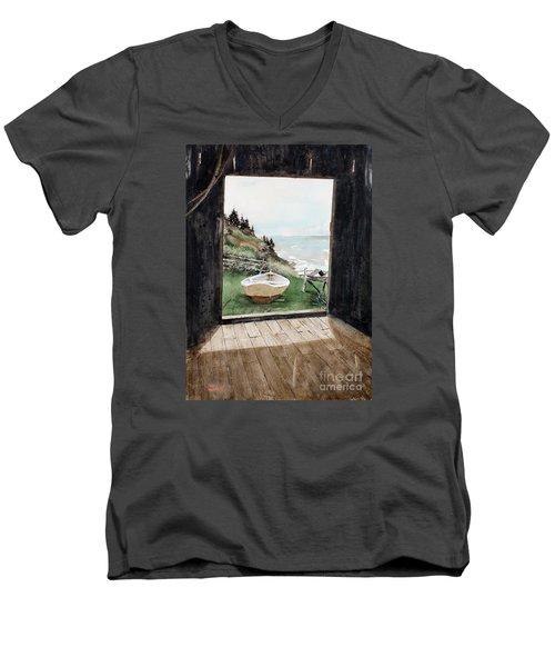 Dry Docked Men's V-Neck T-Shirt