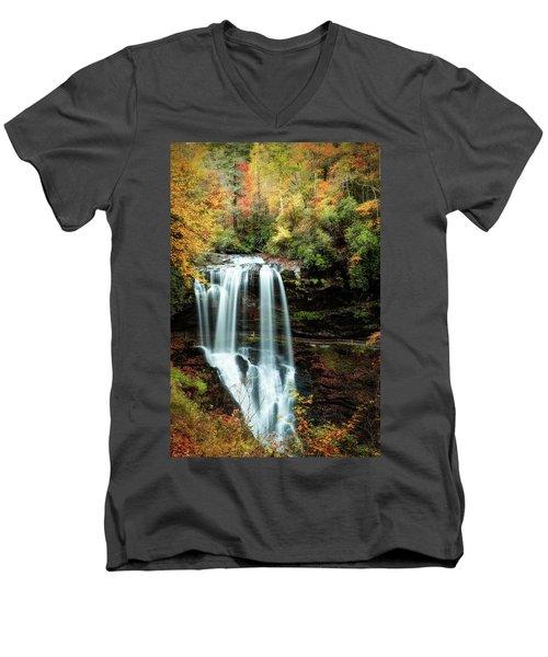 Dry Falls Autumn Splendor Men's V-Neck T-Shirt