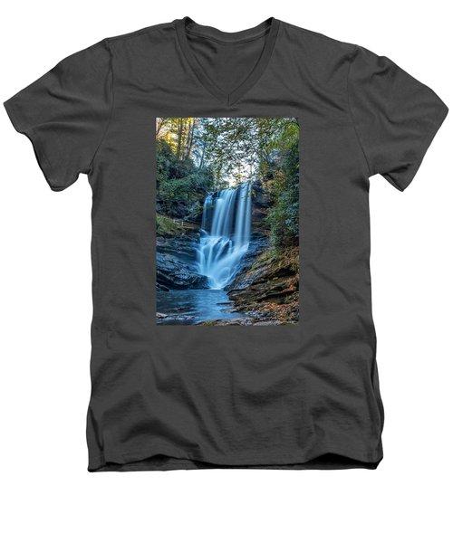 Dry Falls From The Base Men's V-Neck T-Shirt