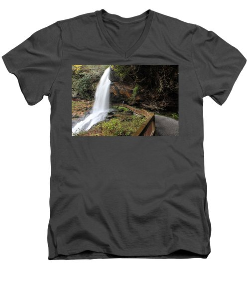 Dry Falls, Nc 10/19/2013 G Men's V-Neck T-Shirt
