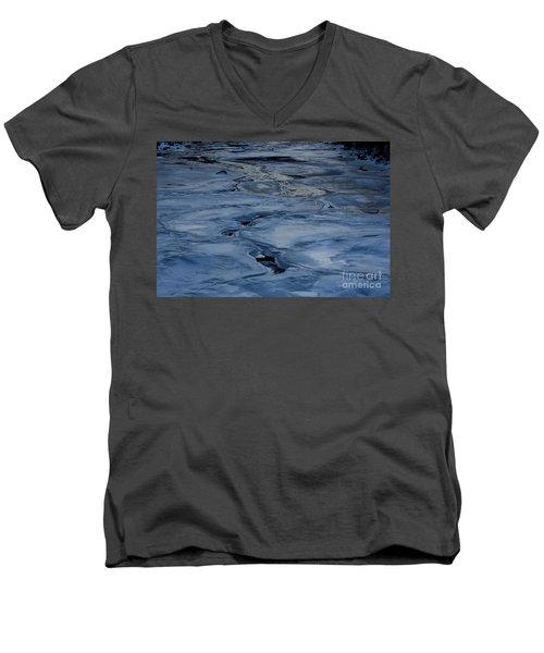 Dry Fork Freeze Men's V-Neck T-Shirt