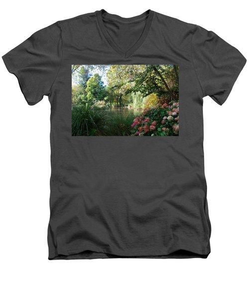 Duck Haven Men's V-Neck T-Shirt