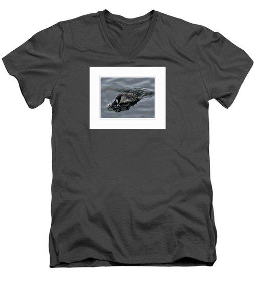 Ducking Men's V-Neck T-Shirt
