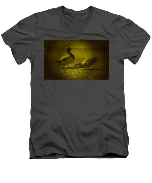 Ducks #3 Men's V-Neck T-Shirt