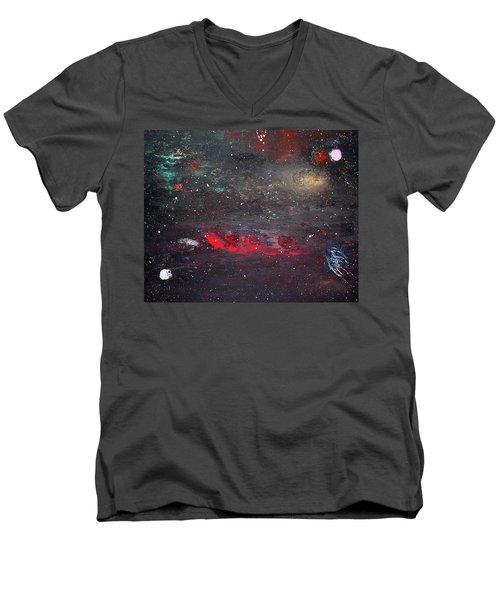 Dulaity Men's V-Neck T-Shirt