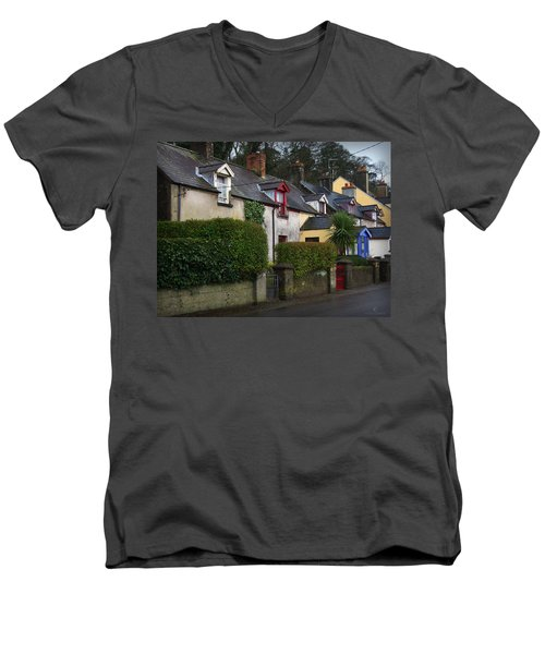 Dunmore Houses Men's V-Neck T-Shirt