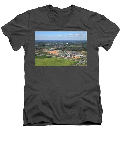 Dunn 7654 Men's V-Neck T-Shirt