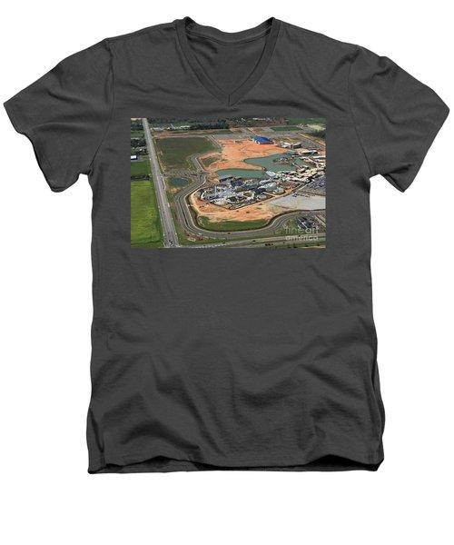 Dunn 7666 Men's V-Neck T-Shirt