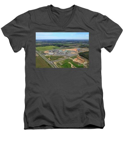Dunn 7673 Men's V-Neck T-Shirt