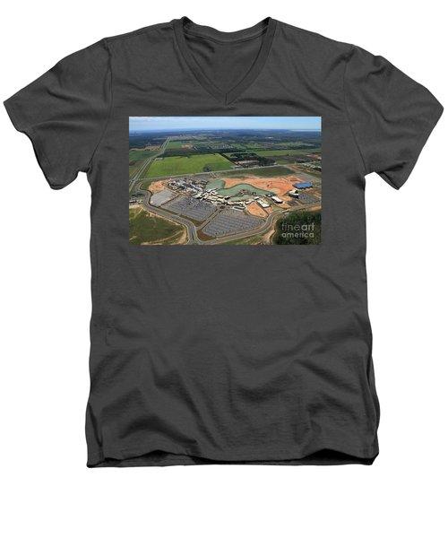 Dunn 7786 Men's V-Neck T-Shirt