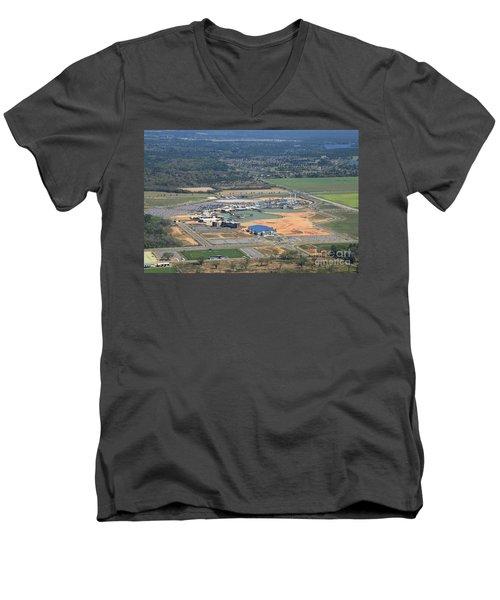 Dunn 7831 Men's V-Neck T-Shirt