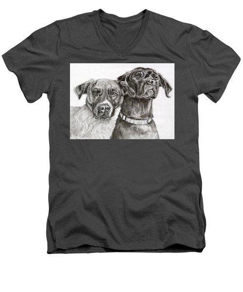 Duo Men's V-Neck T-Shirt