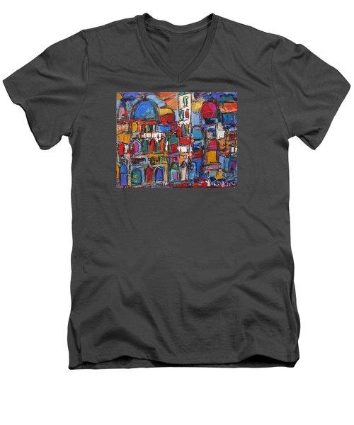 Duomo  Florence  Men's V-Neck T-Shirt