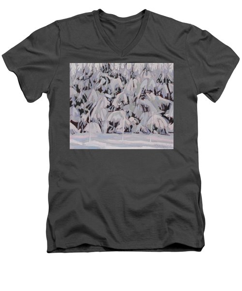 During The Storm Men's V-Neck T-Shirt