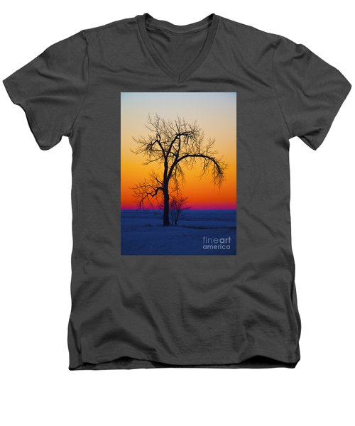 Dusk Surreal.. Men's V-Neck T-Shirt