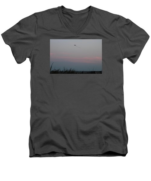 Men's V-Neck T-Shirt featuring the photograph Dusky Colors  by Robert Banach