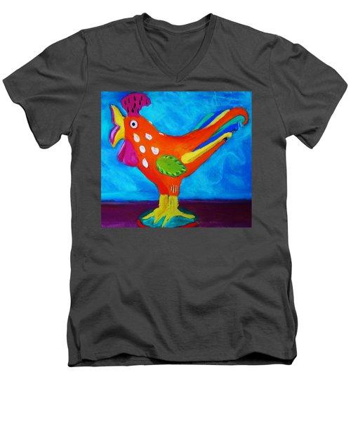 Dusty's Chick Men's V-Neck T-Shirt