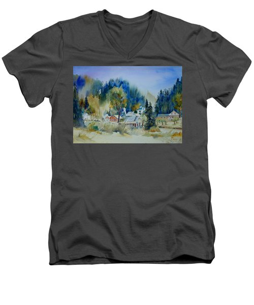 Dutch Flat Hamlet #2 Men's V-Neck T-Shirt