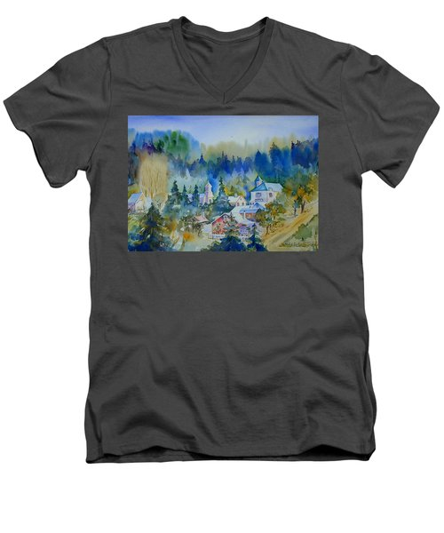 Dutch Flat Hamlet#3 Men's V-Neck T-Shirt