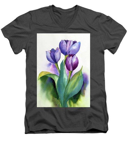 Dutch Tulips Men's V-Neck T-Shirt