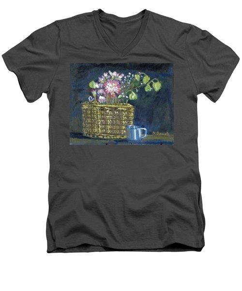 Dying Flowers Men's V-Neck T-Shirt