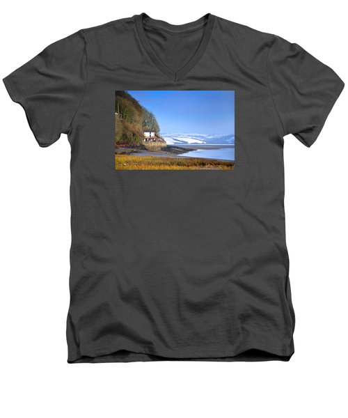 Dylan Thomas Boathouse 3 Men's V-Neck T-Shirt